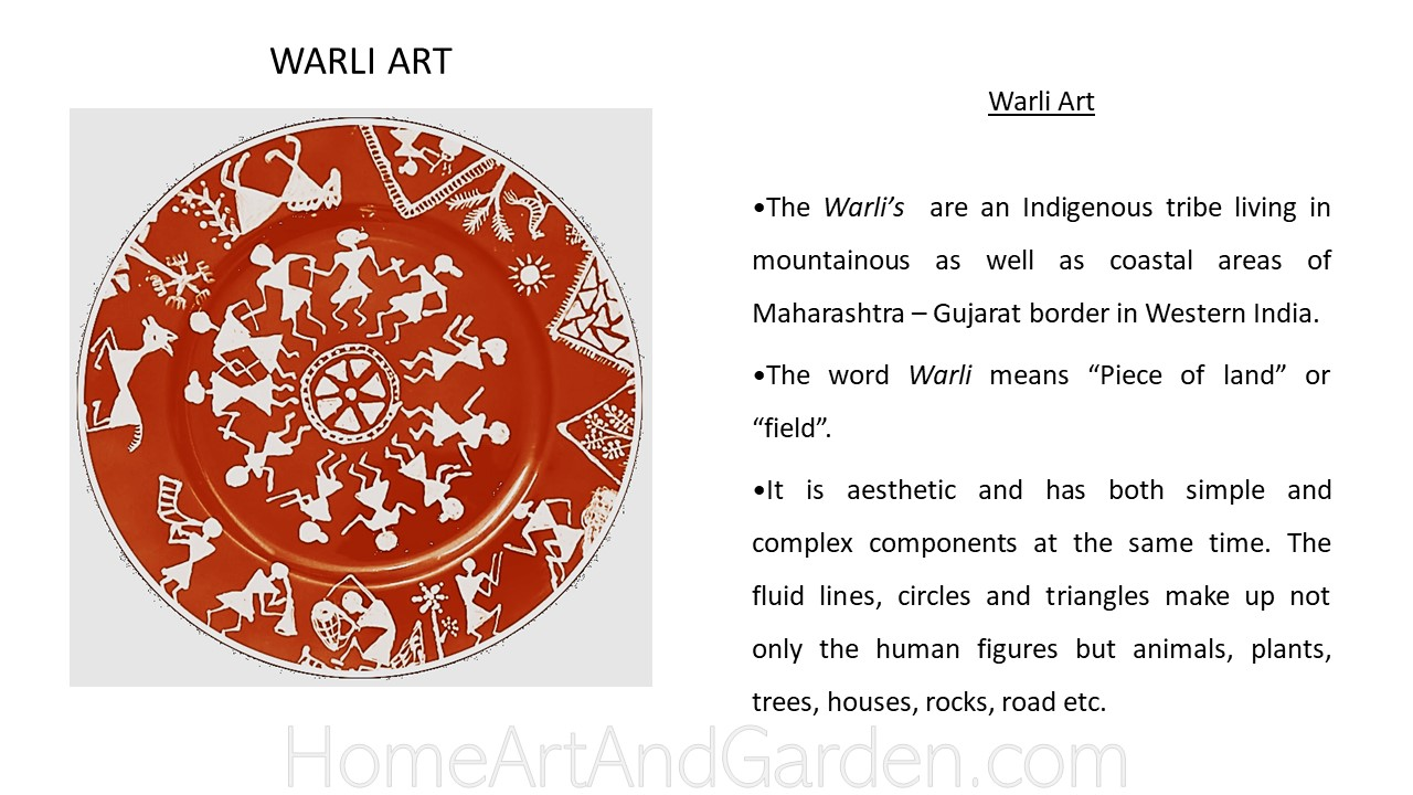Creative Art Smart I - Warli art