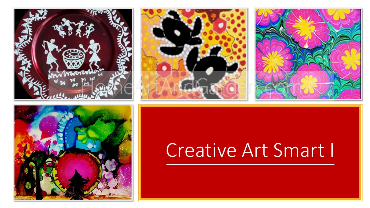 [COMPLETED] Creative Art Smart I (Alcohol Ink art, Warli art, Aboriginal art, Marbling art) June 17-20, 2019 (Mo-Th)