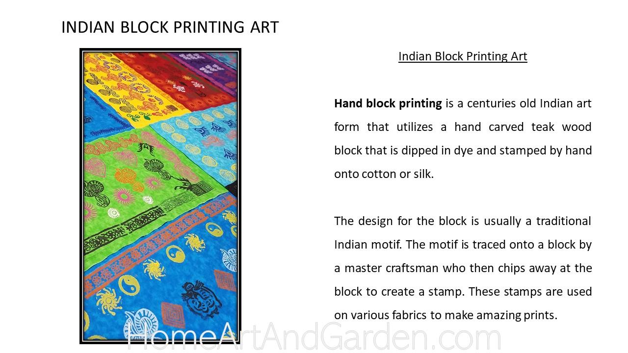 Creative Art Smart II- Block printing