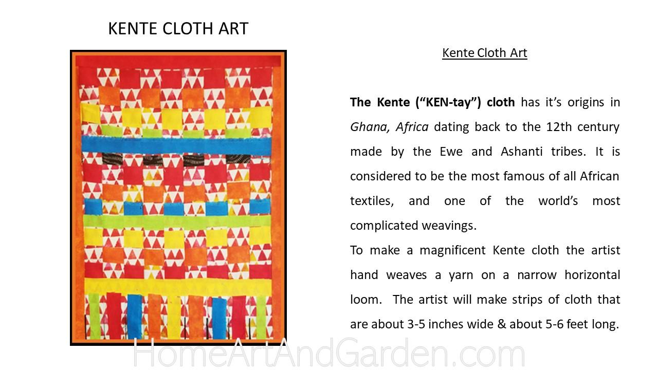 Creative Art Smart II - Kente cloth