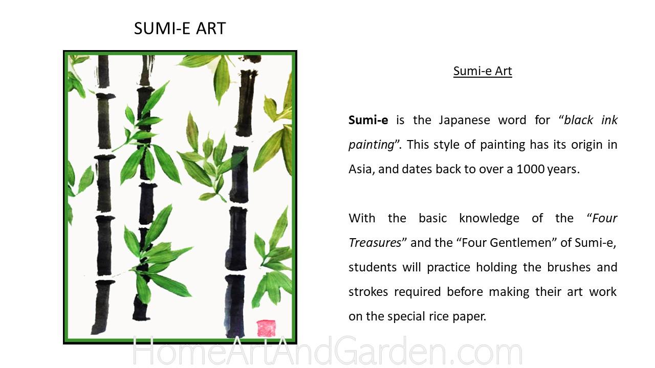Creative Art Smart II - Sumi-e Lanterns